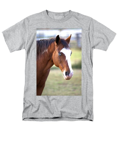 Men's T-Shirt  (Regular Fit) featuring the photograph Blue Eyes by Gordon Elwell
