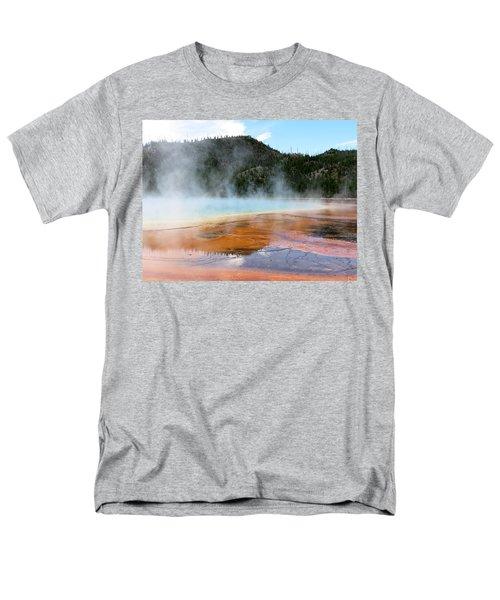 Blue Steam Men's T-Shirt  (Regular Fit) by Laurel Powell