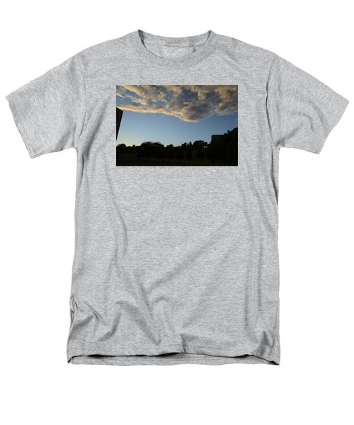 Men's T-Shirt  (Regular Fit) featuring the photograph Blue Visions 4 by Teo SITCHET-KANDA