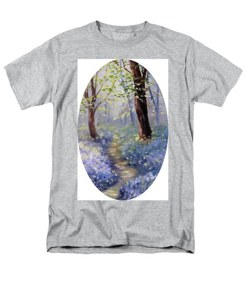 Bluebell Wood Men's T-Shirt  (Regular Fit) by Meaghan Troup