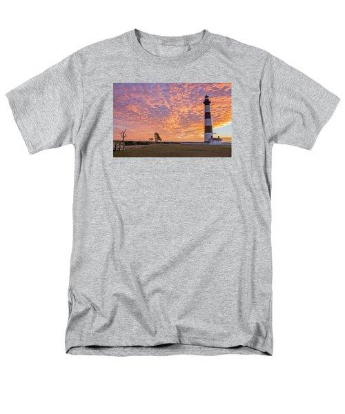 Bodie Island Lighthouse At Sunrise Men's T-Shirt  (Regular Fit)
