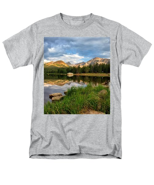 Brainard Lake Reflections Men's T-Shirt  (Regular Fit) by Ronda Kimbrow