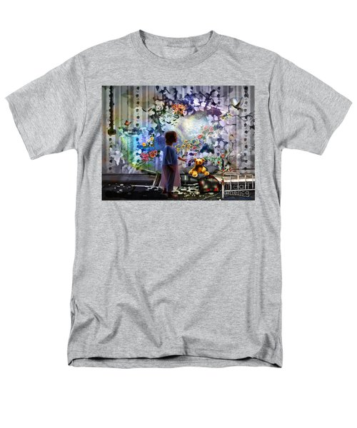 Break Through Men's T-Shirt  (Regular Fit) by Dolores Develde