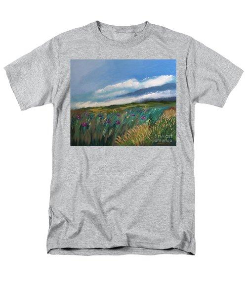 Breezy Day At Mauna Kea Men's T-Shirt  (Regular Fit)