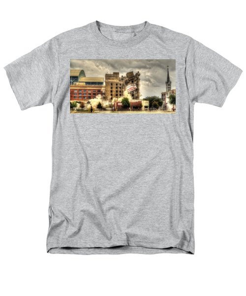 Bringing Down The House Men's T-Shirt  (Regular Fit) by David Morefield