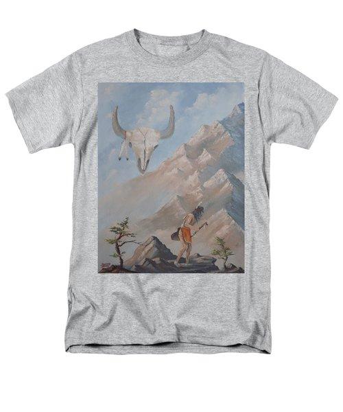 Buffalo Dancer Men's T-Shirt  (Regular Fit) by Richard Faulkner