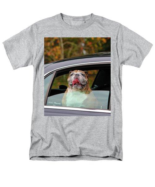 Bulldog Bliss Men's T-Shirt  (Regular Fit) by Jeanette C Landstrom