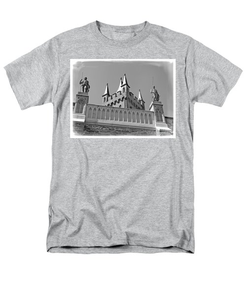 Men's T-Shirt  (Regular Fit) featuring the photograph Burg Hohenzollern by Carsten Reisinger