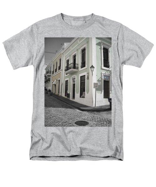 Calle De Luna Y Calle Del Cristo Men's T-Shirt  (Regular Fit) by Daniel Sheldon