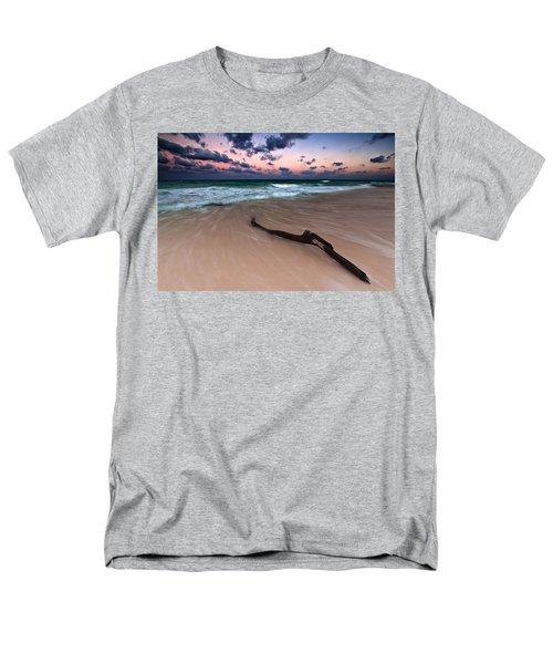 Men's T-Shirt  (Regular Fit) featuring the photograph Caribbean Sunset by Mihai Andritoiu