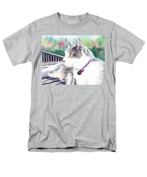 Cat Men's T-Shirt  (Regular Fit) by Irina Sztukowski