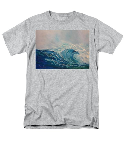 Men's T-Shirt  (Regular Fit) featuring the painting Wave 111 by Jenny Lee