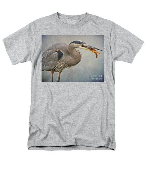 Men's T-Shirt  (Regular Fit) featuring the photograph Catch Of The Day by Heather King