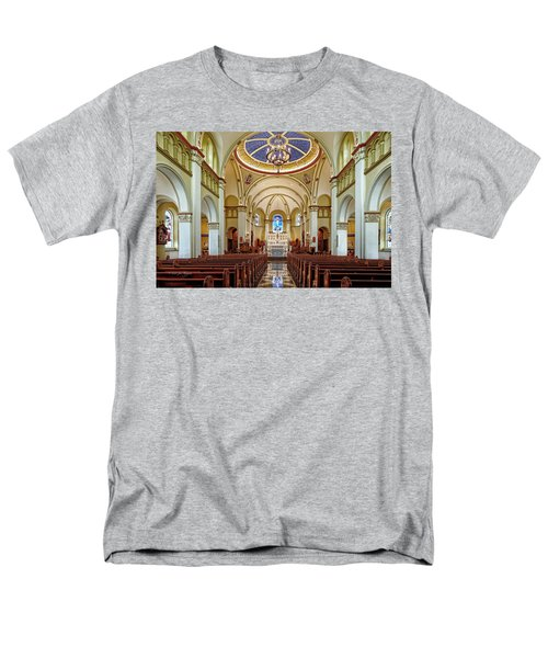 Men's T-Shirt  (Regular Fit) featuring the photograph Chapel Of The Immaculate Conception by Jim Thompson