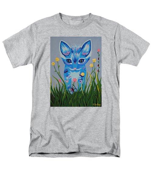 Men's T-Shirt  (Regular Fit) featuring the painting Chibi by Kathleen Sartoris