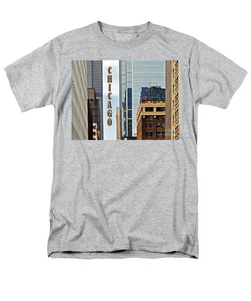 Chicago  Men's T-Shirt  (Regular Fit) by Lydia Holly