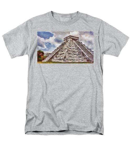 Chichen Itza Men's T-Shirt  (Regular Fit) by Jeff Kolker