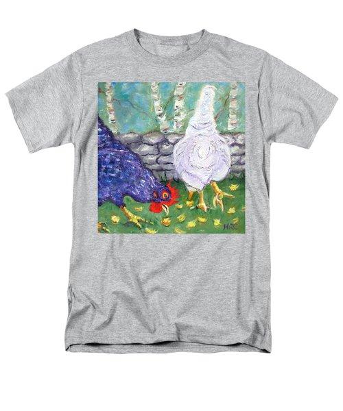 Chicken Neighbors Men's T-Shirt  (Regular Fit)