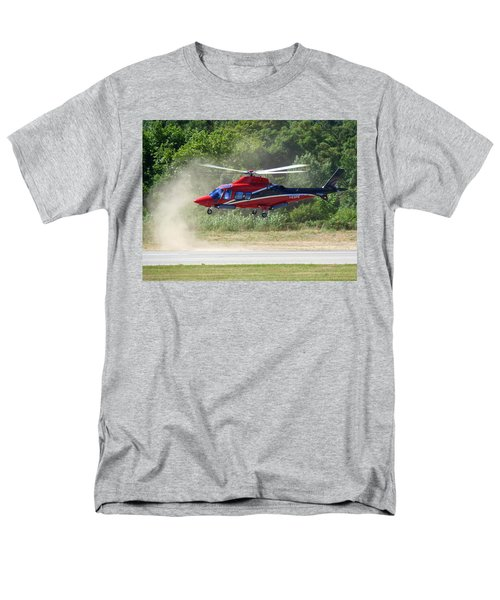 Men's T-Shirt  (Regular Fit) featuring the photograph Close Landing  by Rogerio Mariani