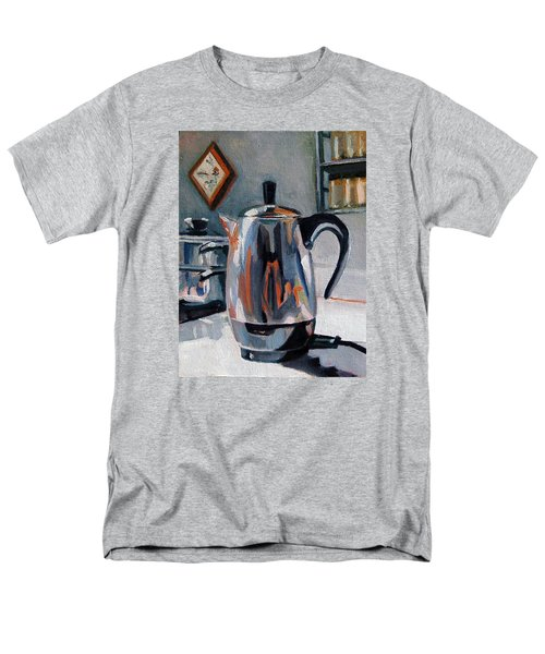 Men's T-Shirt  (Regular Fit) featuring the painting Coffeepot by Pattie Wall