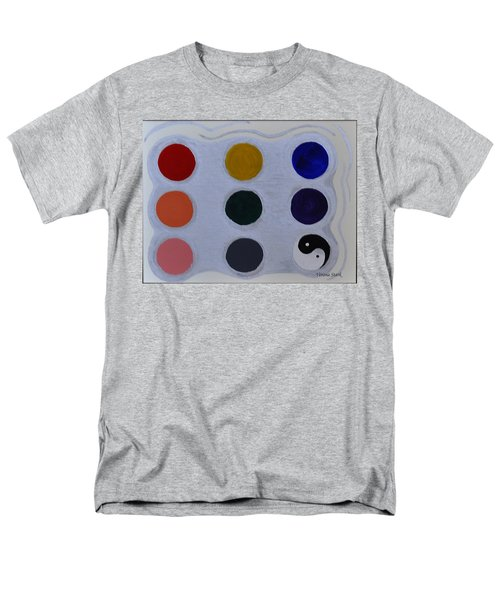 Color From The Series The Elements And Principles Of Art Men's T-Shirt  (Regular Fit) by Verana Stark