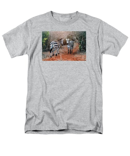 Men's T-Shirt  (Regular Fit) featuring the photograph Coming And Going by Phyllis Kaltenbach