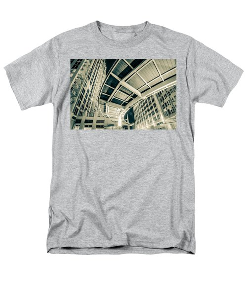 Men's T-Shirt  (Regular Fit) featuring the photograph Complex Architecture by Alex Grichenko