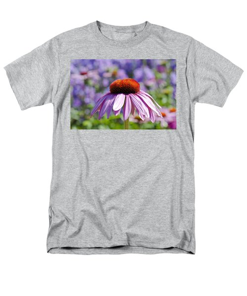 Men's T-Shirt  (Regular Fit) featuring the photograph Coneflower by Lana Enderle