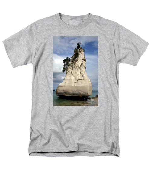 Coromandel Rock Men's T-Shirt  (Regular Fit) by Barbie Corbett-Newmin