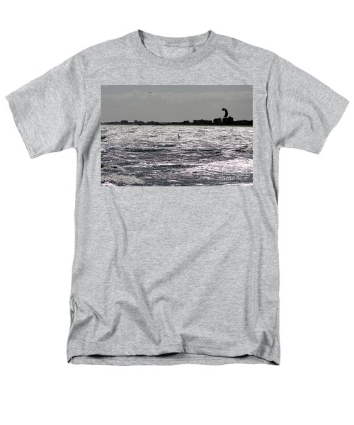 Creative Surfing Men's T-Shirt  (Regular Fit) by Chris Thomas