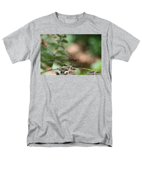 Men's T-Shirt  (Regular Fit) featuring the photograph Damselfly by Neal Eslinger