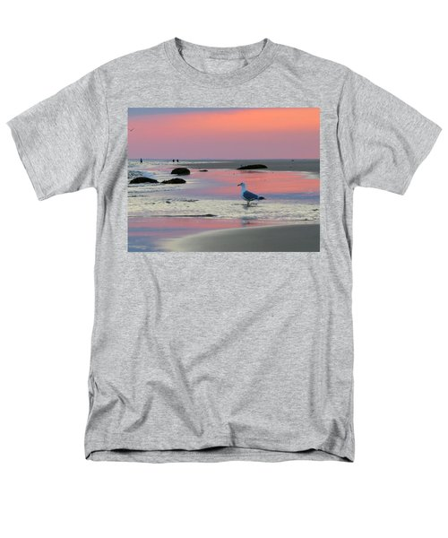 Men's T-Shirt  (Regular Fit) featuring the photograph Dawn In Pink by Dianne Cowen