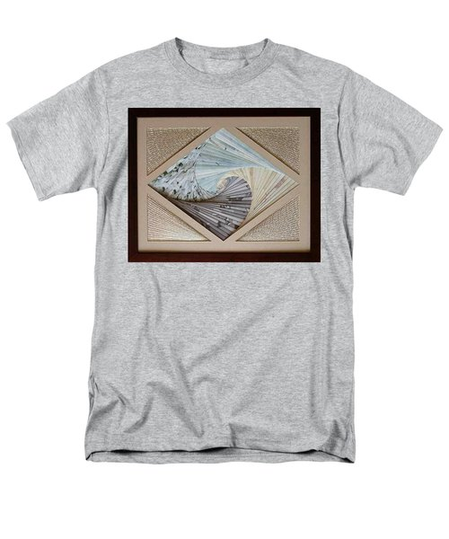 Men's T-Shirt  (Regular Fit) featuring the mixed media Diamonds Are Forever by Ron Davidson
