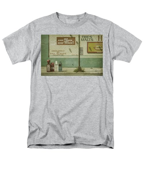 Diner Rules Men's T-Shirt  (Regular Fit) by Andrew Paranavitana