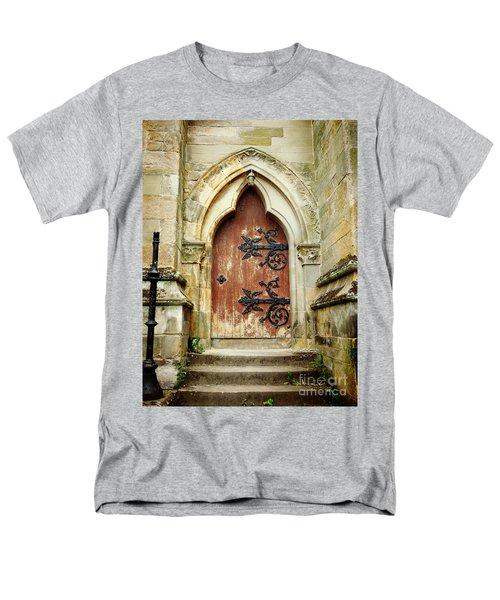Distressed Door Men's T-Shirt  (Regular Fit) by Valerie Reeves