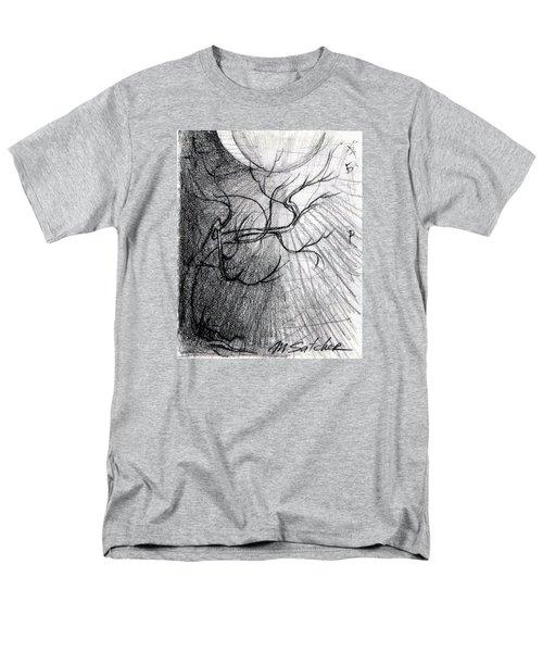 Doom Moon  Men's T-Shirt  (Regular Fit) by Mikhail Savchenko