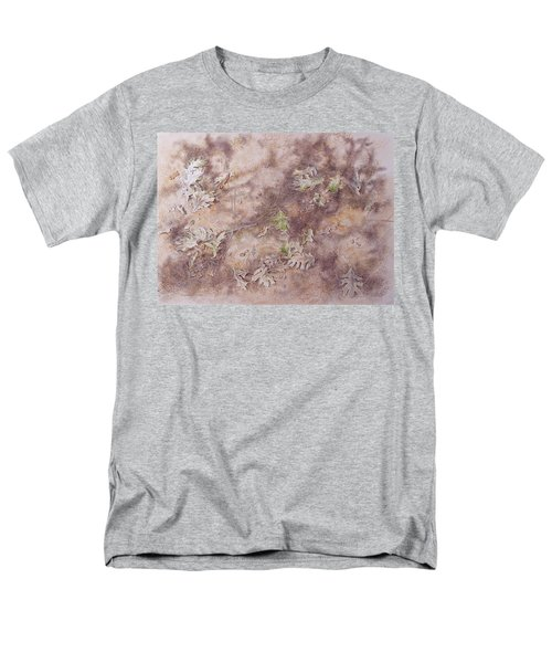 Men's T-Shirt  (Regular Fit) featuring the mixed media Early Fall by Michele Myers