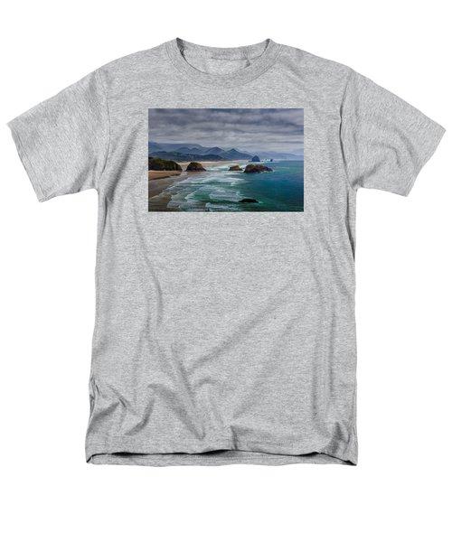Ecola Viewpoint Men's T-Shirt  (Regular Fit) by Rick Berk