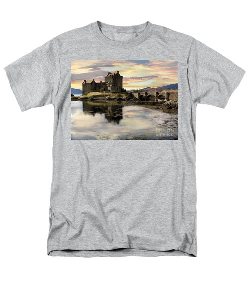 Eilean Donan Castle Scotland Men's T-Shirt  (Regular Fit) by Jacqi Elmslie