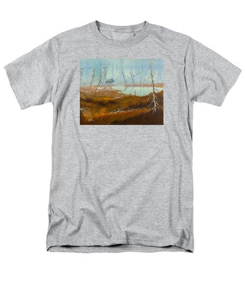 Elk Swamp Men's T-Shirt  (Regular Fit) by Richard Faulkner