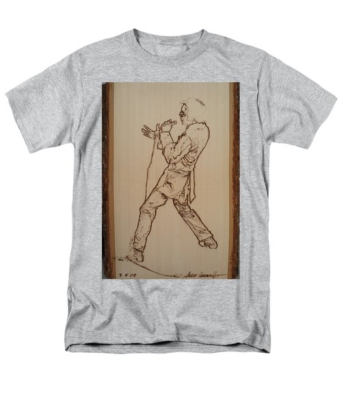 Elvis Presley - If I Can Dream Men's T-Shirt  (Regular Fit) by Sean Connolly