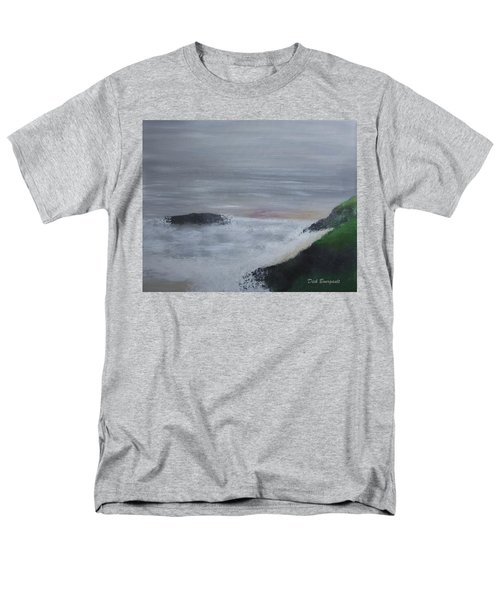 Emerald Isle Men's T-Shirt  (Regular Fit) by Dick Bourgault