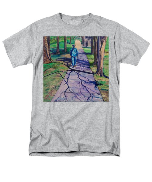 Men's T-Shirt  (Regular Fit) featuring the painting Entanglement On Highway 98' by Ecinja Art Works