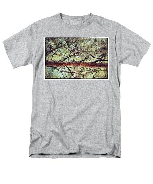 Men's T-Shirt  (Regular Fit) featuring the photograph Evergreen Bird by Tara Potts