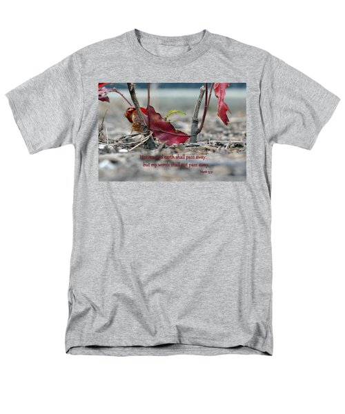 Men's T-Shirt  (Regular Fit) featuring the photograph Everlasting Words by Larry Bishop