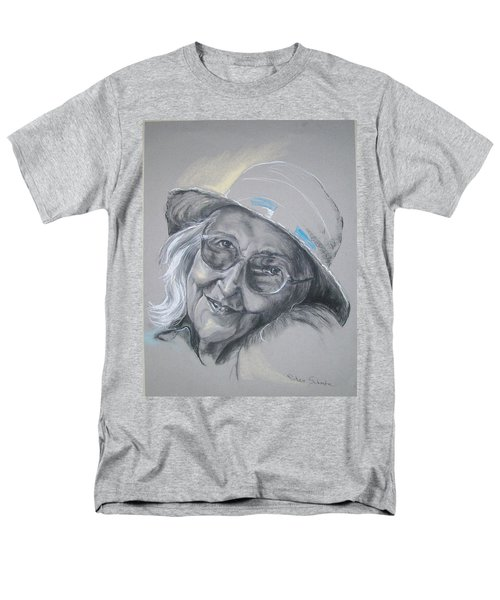 Men's T-Shirt  (Regular Fit) featuring the drawing Everybodys Grandma by Peter Suhocke