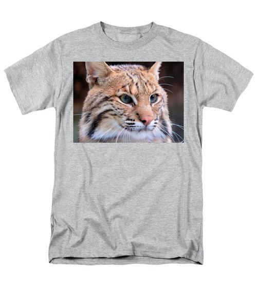Eyes Of A Lynx Men's T-Shirt  (Regular Fit) by Rosalie Scanlon
