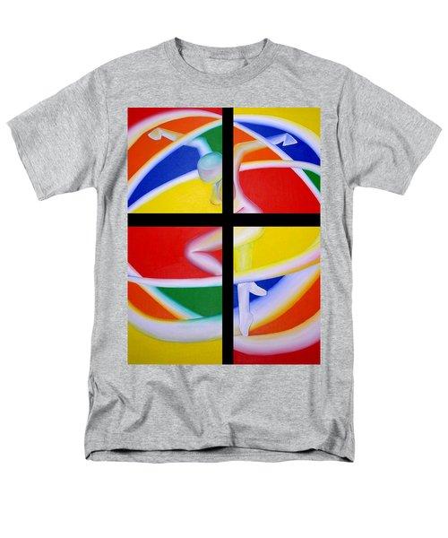 Firedancer Men's T-Shirt  (Regular Fit) by Joshua Morton