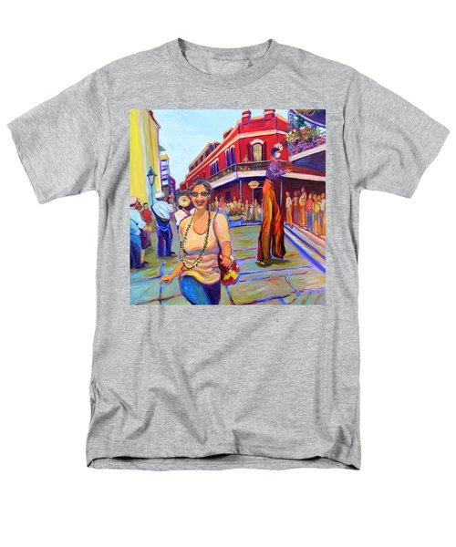 First Trip To New Orleans Men's T-Shirt  (Regular Fit) by Jeanette Jarmon