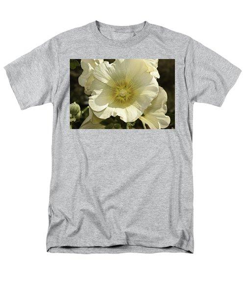 Flower Petals Of A White Flower Men's T-Shirt  (Regular Fit) by Ashish Agarwal